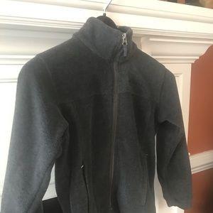 Columbia charcoal grey fleece